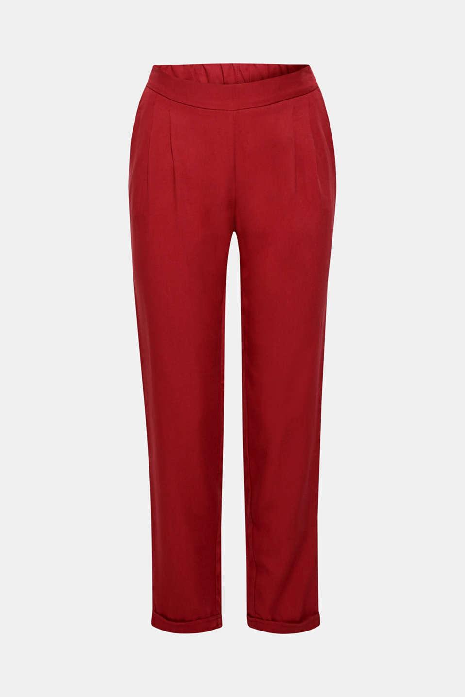 Pants woven, BLUSH, detail image number 8