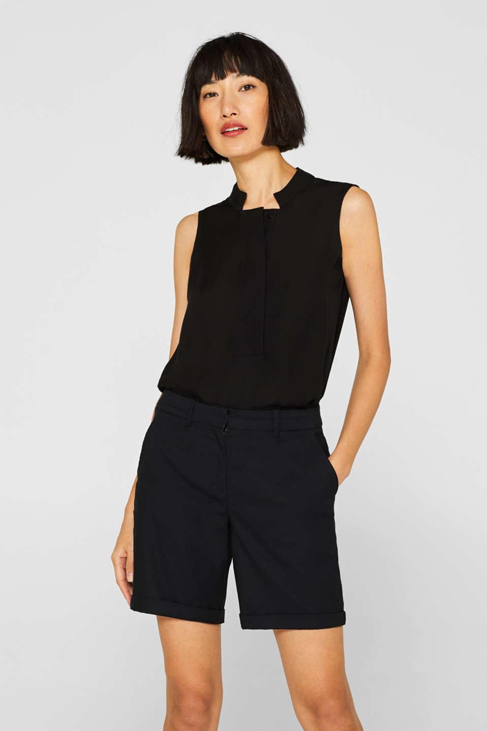 Shorts woven, BLACK, detail image number 0