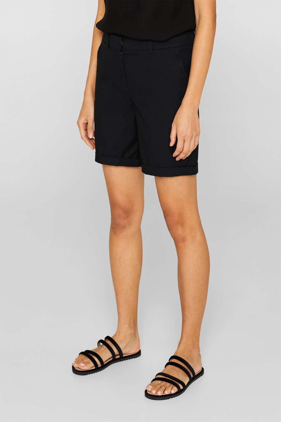 Shorts woven, BLACK, detail image number 6