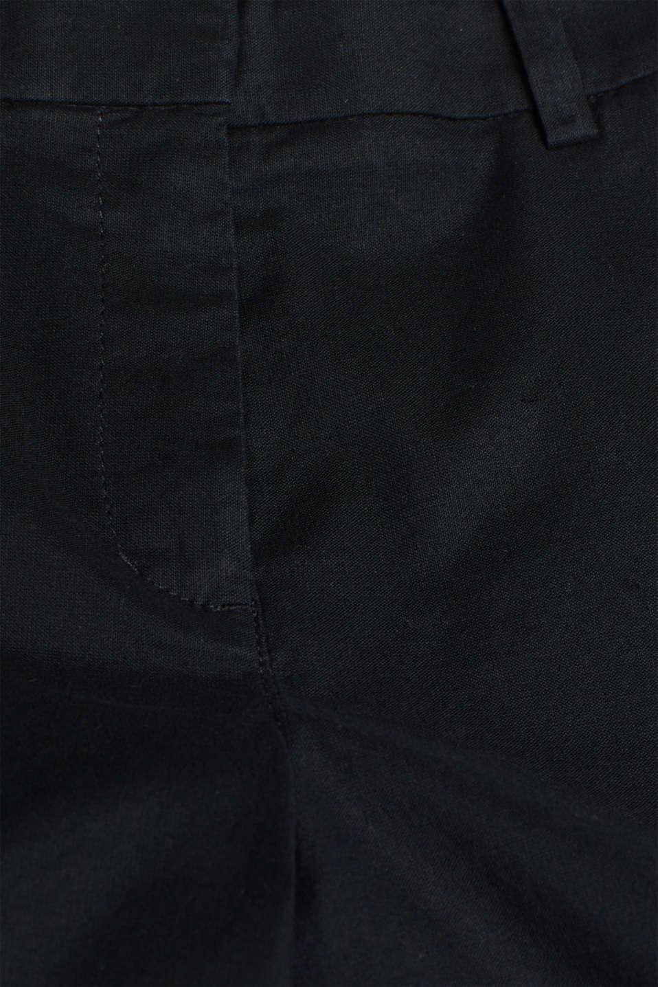 Shorts woven, BLACK, detail image number 4