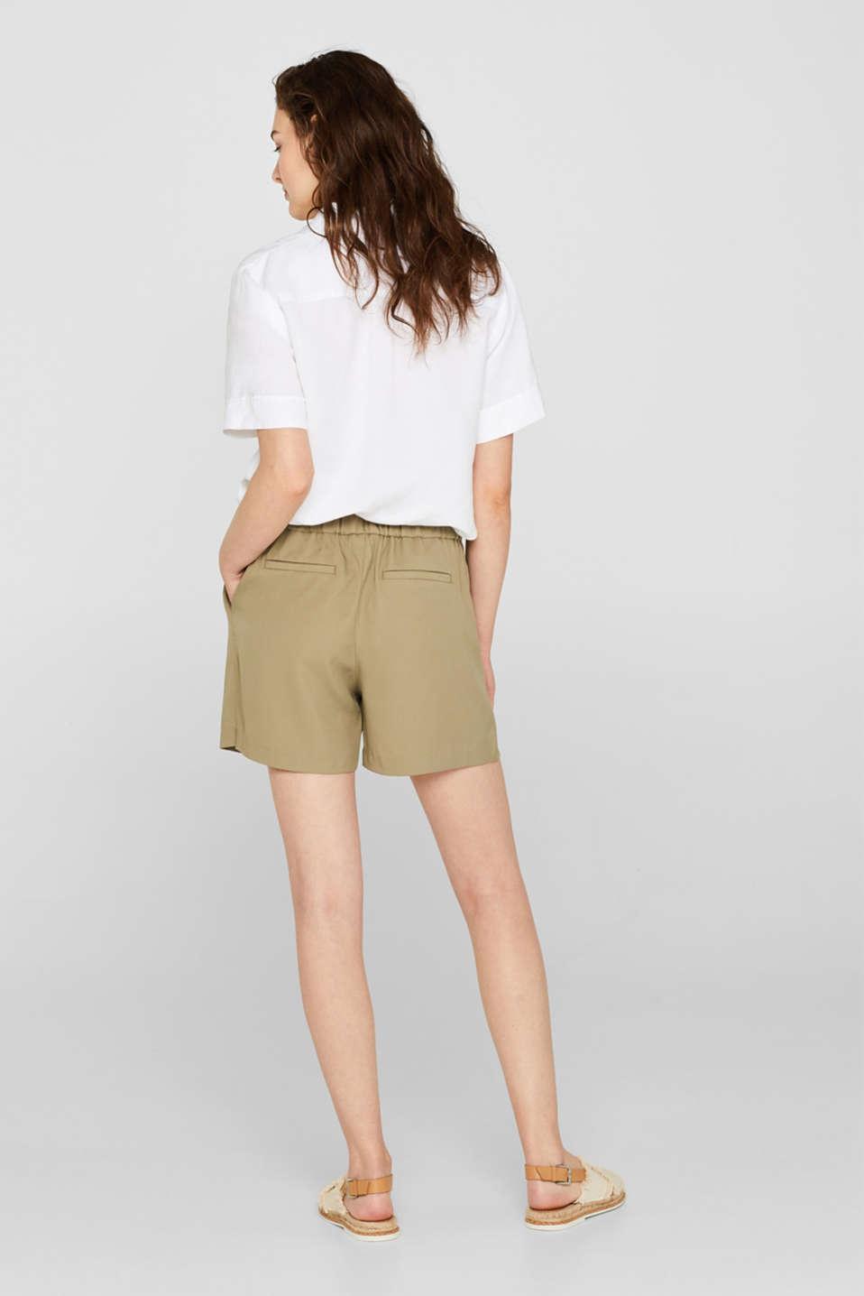 Shorts woven, LIGHT KHAKI, detail image number 3