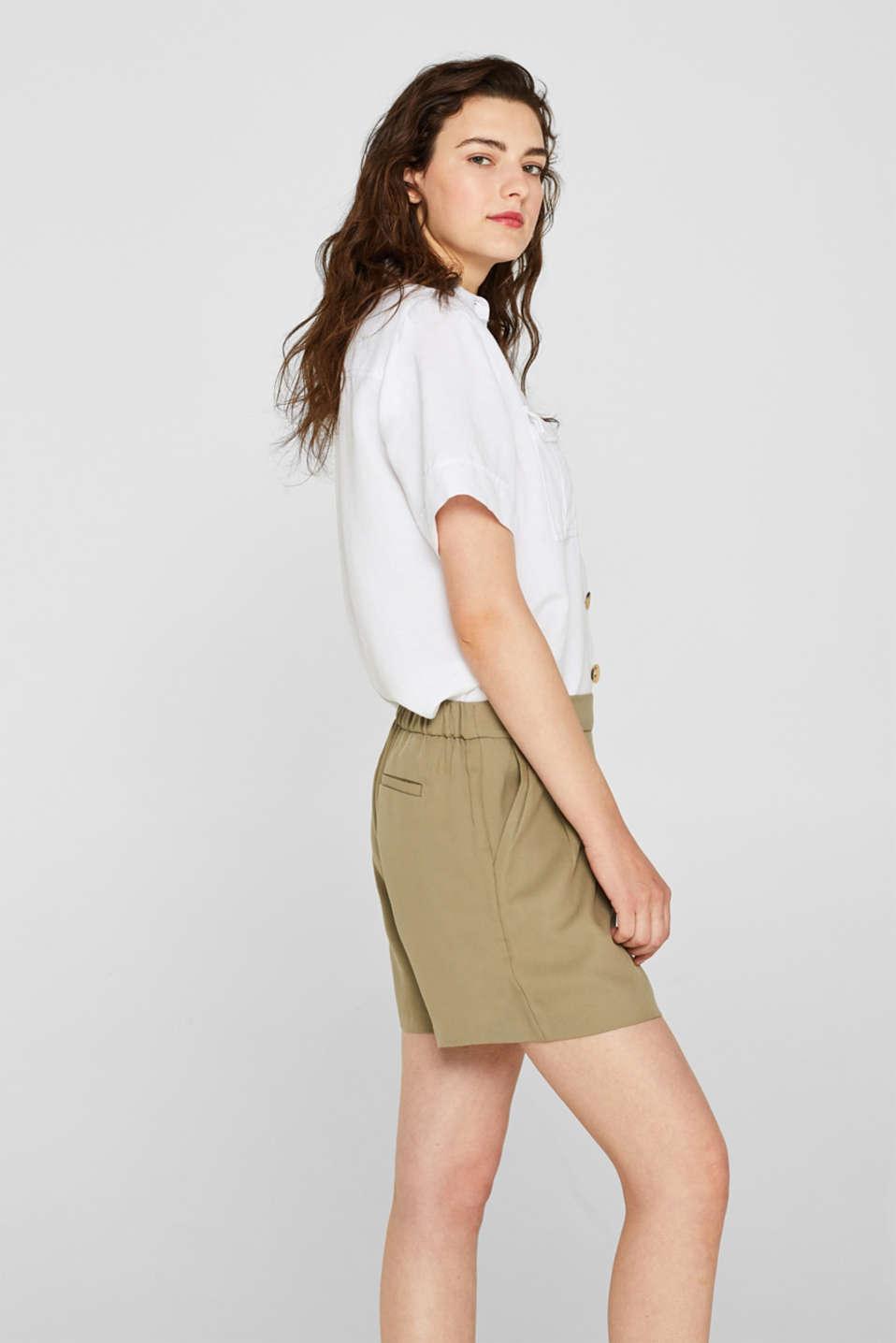 Shorts woven, LIGHT KHAKI, detail image number 5