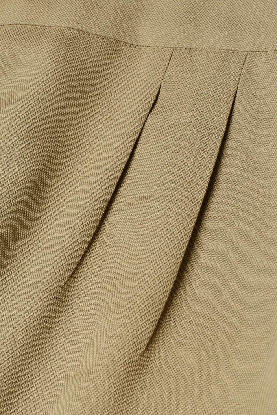 Shorts woven, LIGHT KHAKI, detail image number 4