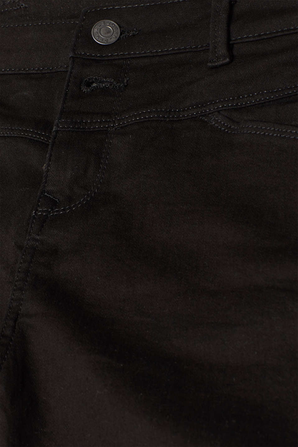 Shorts denim, BLACK, detail image number 4