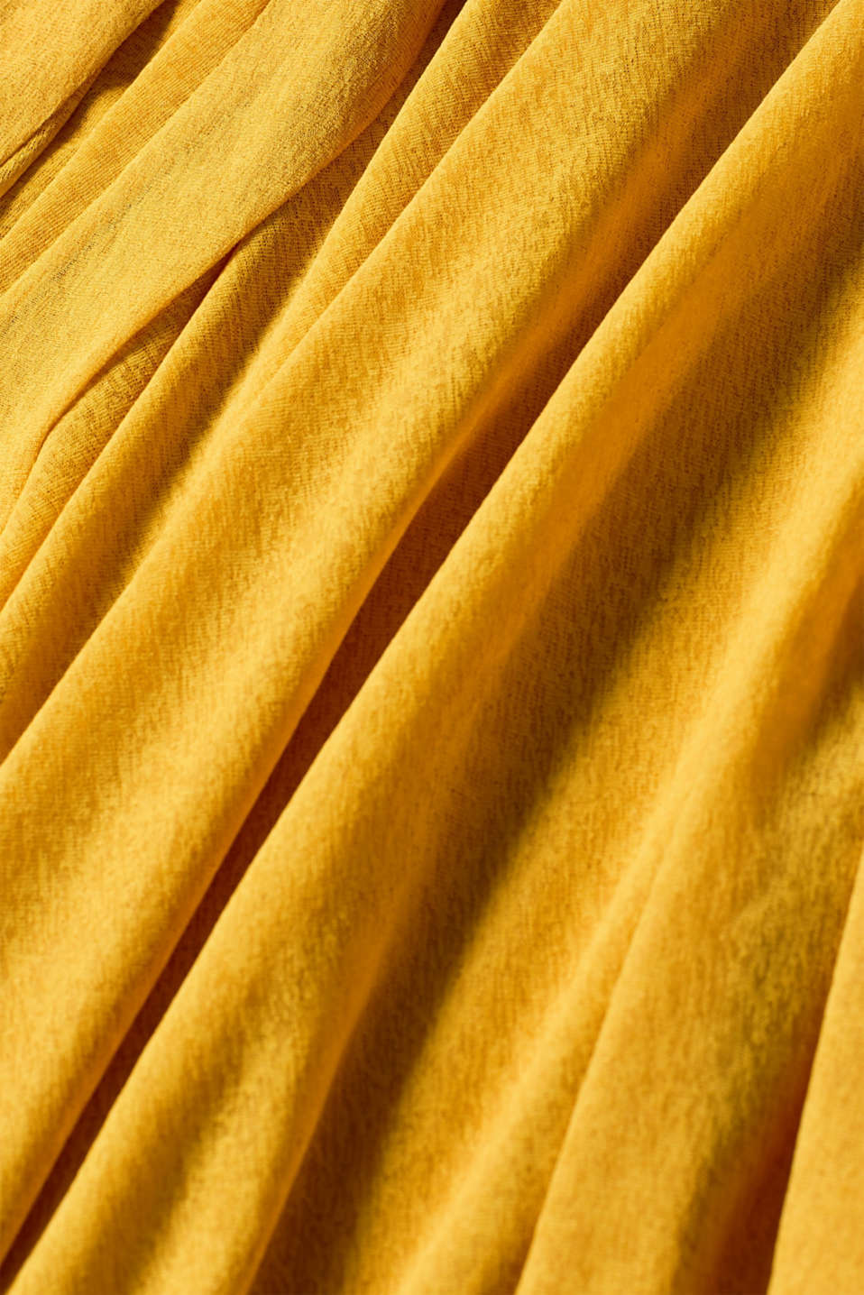 Skirts knitted, BRASS YELLOW, detail image number 4
