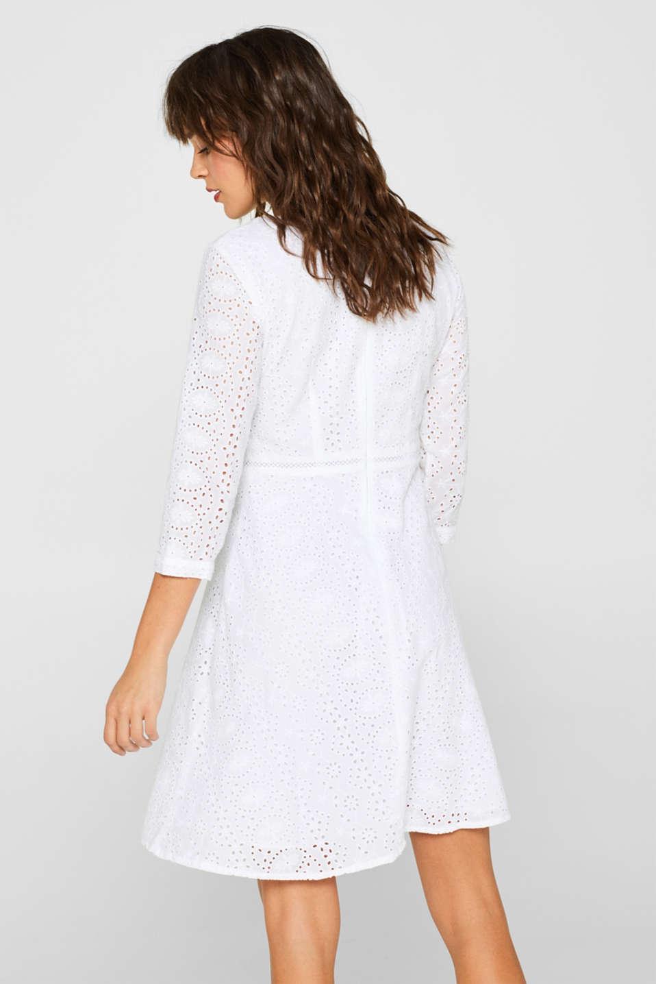 Dresses light woven, WHITE, detail image number 2