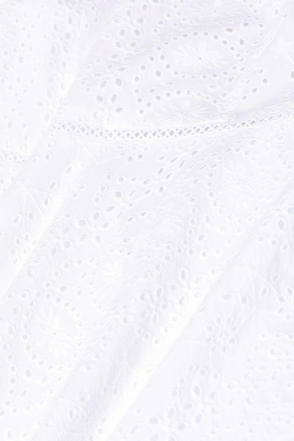 Dresses light woven, WHITE, detail image number 4