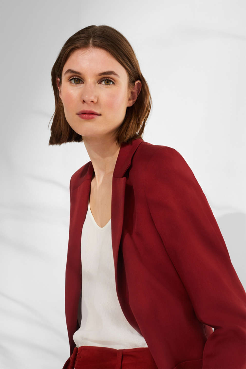 Esprit - STRUCTURED LYOCELL Mix + Match : Blazer