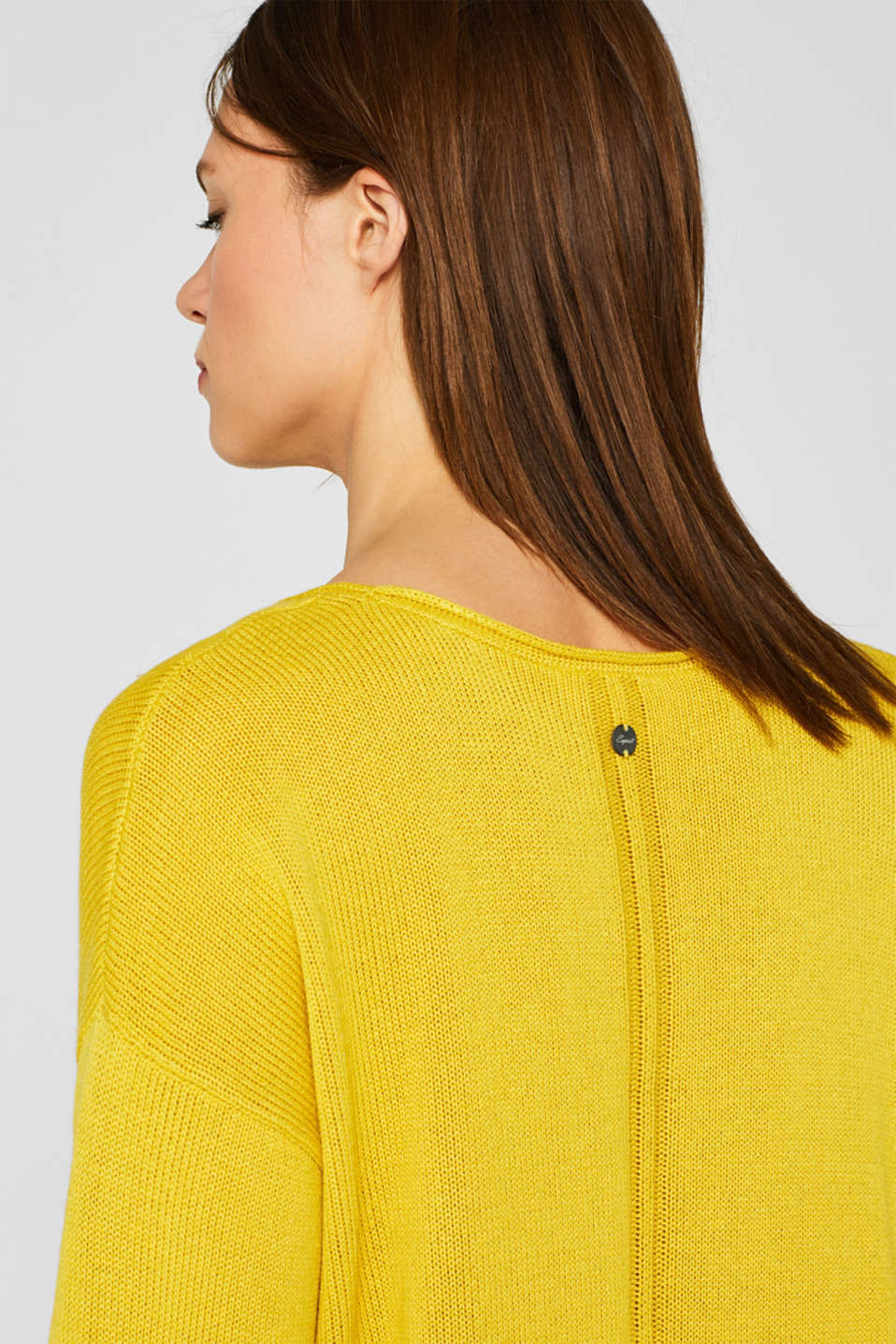 Sweaters, SUNFLOWER YELLOW 5, detail image number 2