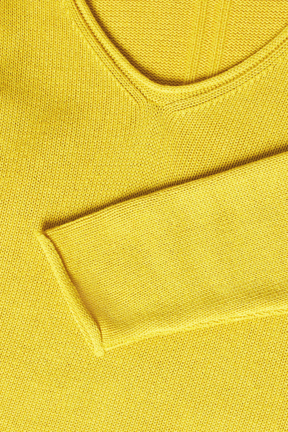 Sweaters, SUNFLOWER YELLOW 5, detail image number 4
