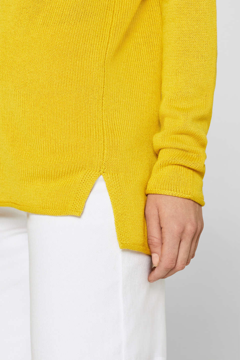 Sweaters, SUNFLOWER YELLOW 5, detail image number 5