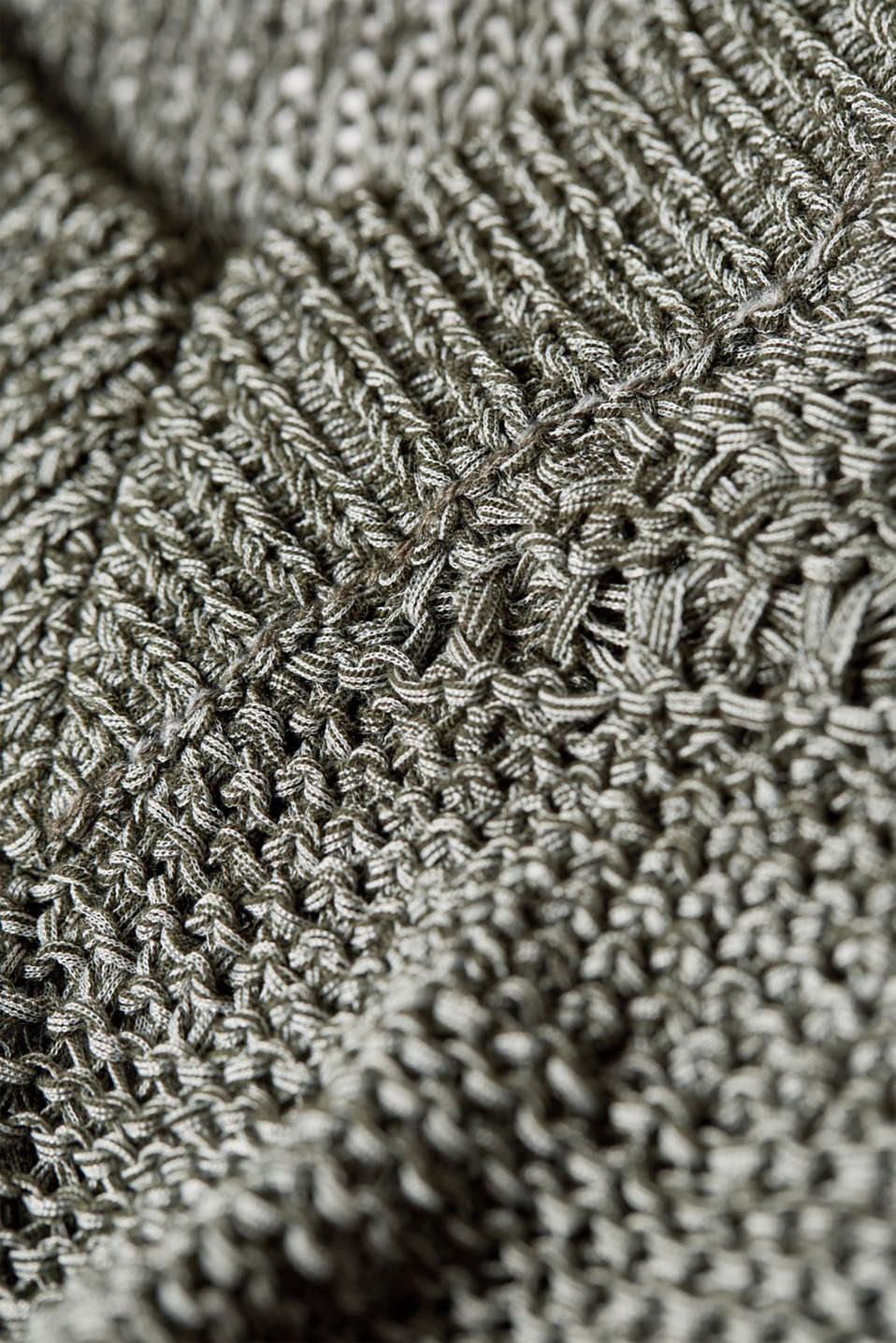 Sweaters, DARK KHAKI, detail image number 4