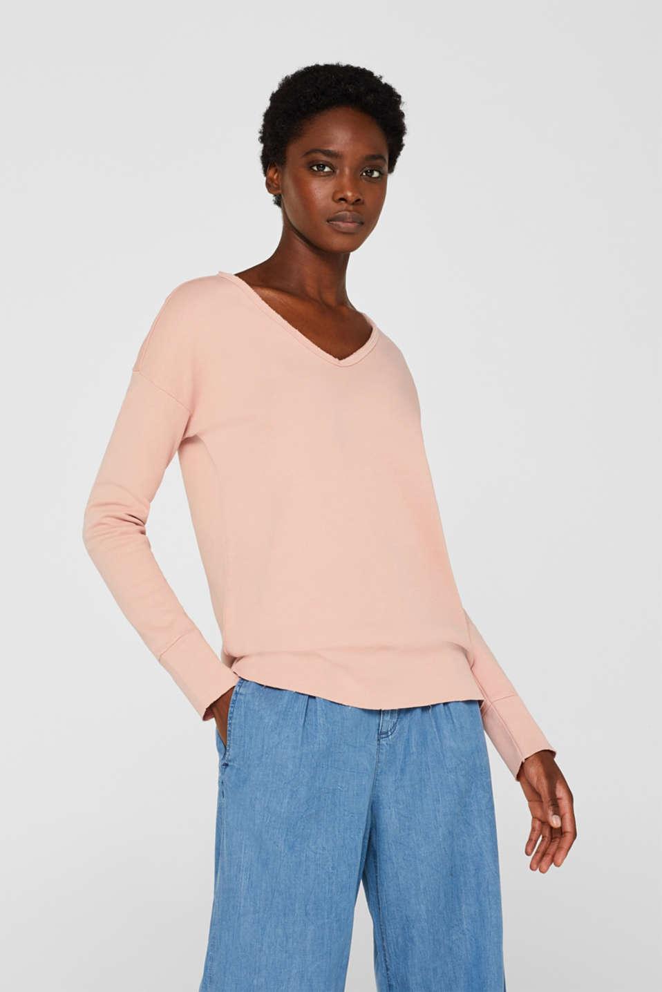Sweatshirts, OLD PINK, detail image number 0