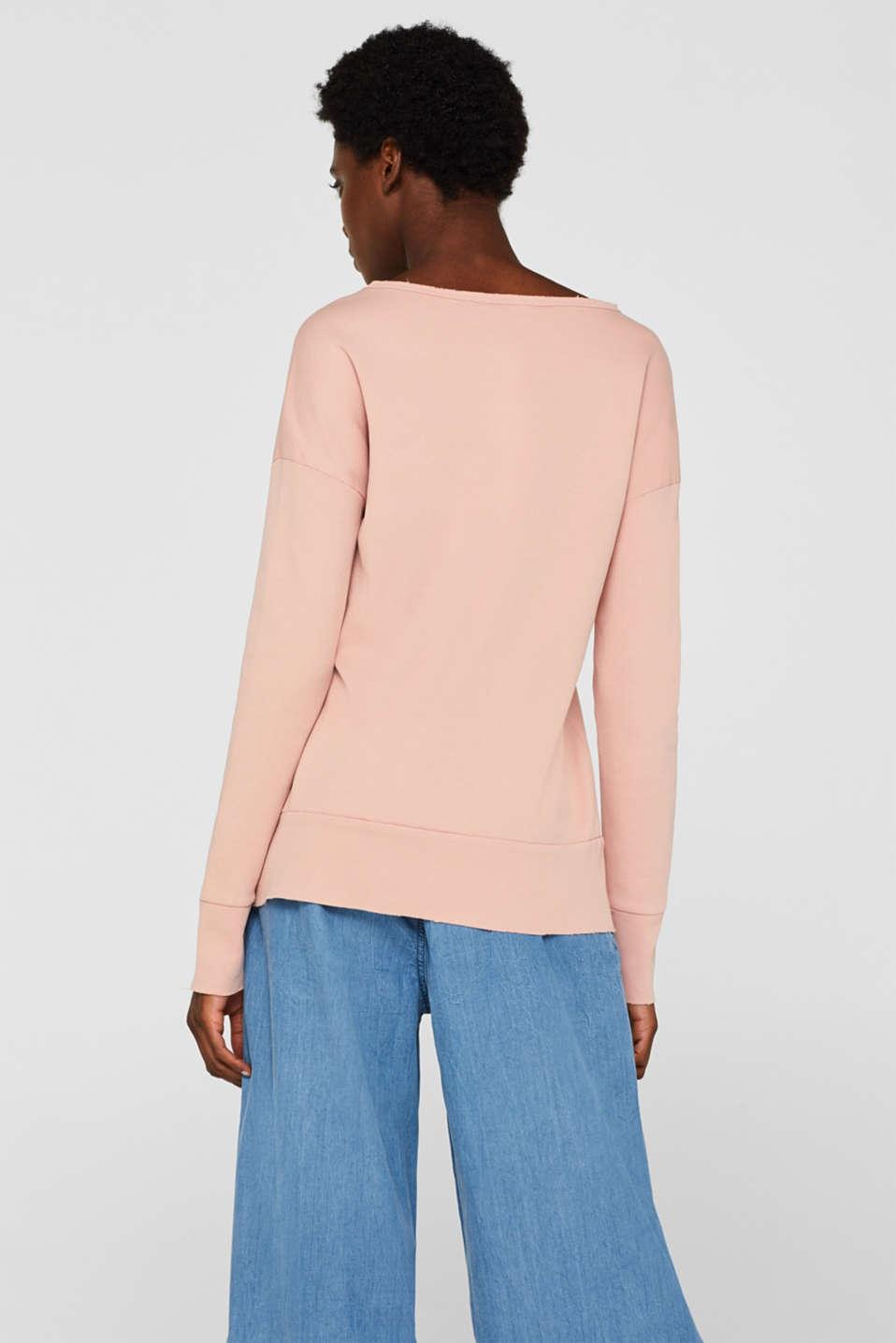 Sweatshirts, OLD PINK, detail image number 3