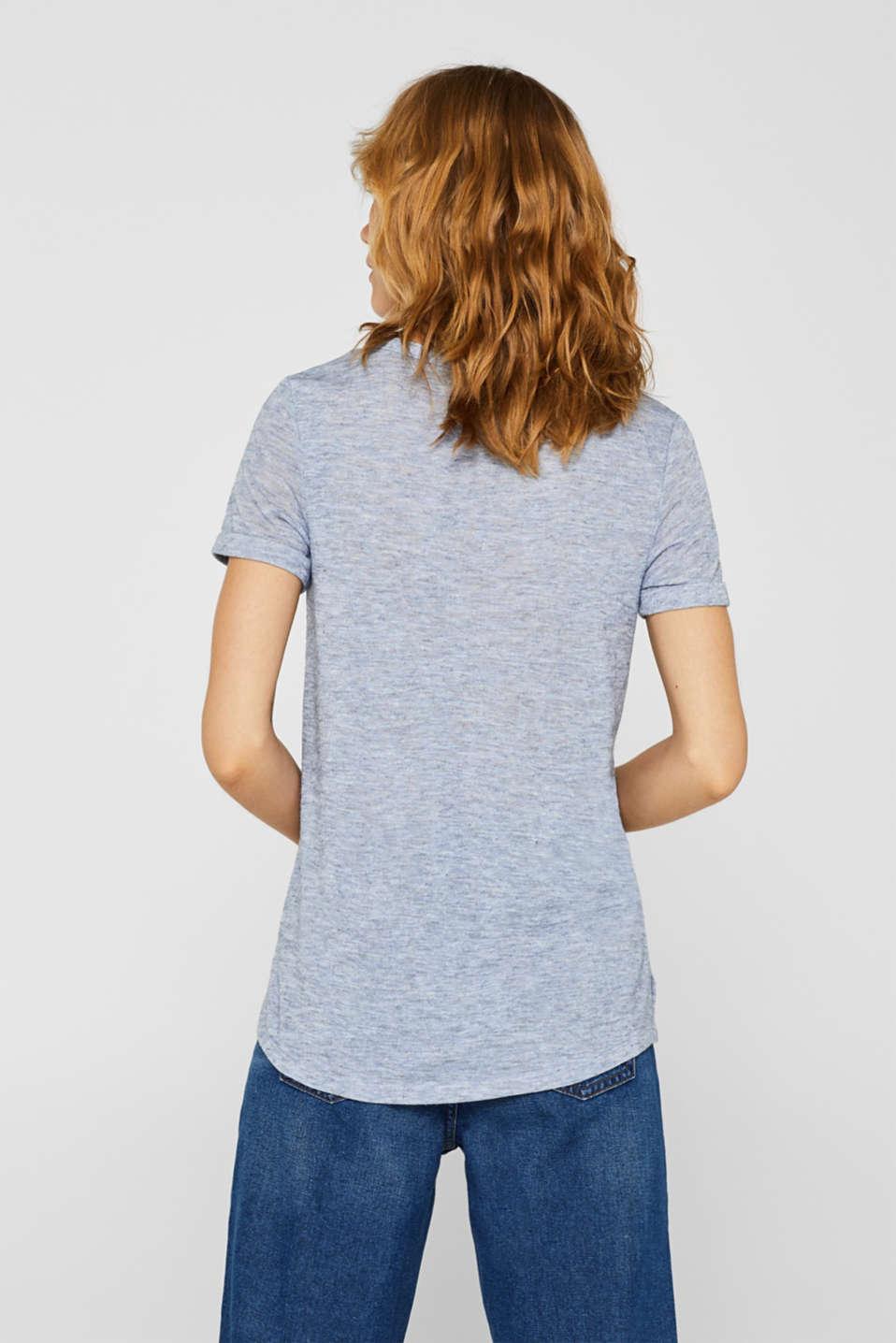 T-Shirts, PASTEL BLUE, detail image number 3
