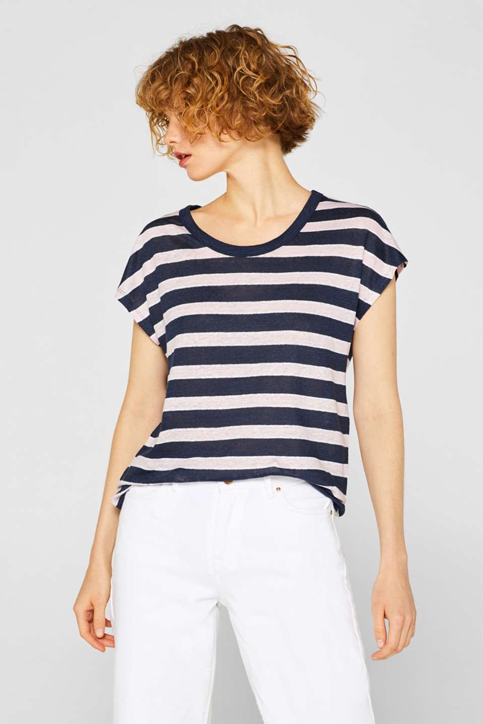 Shop 100LinnenShirt Online In Kopen Met Esprit Strepen De 9WE2IeDHY
