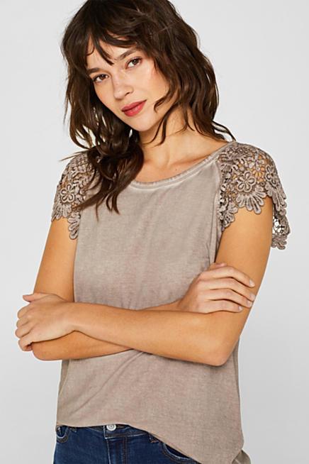 6bb7941fe405d T-Shirts & Langarmshirts für Damen im Online Shop | ESPRIT