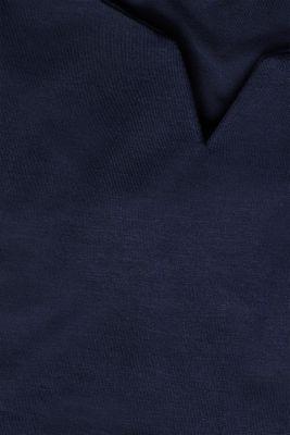 Soft stretch jersey vest, NAVY, detail