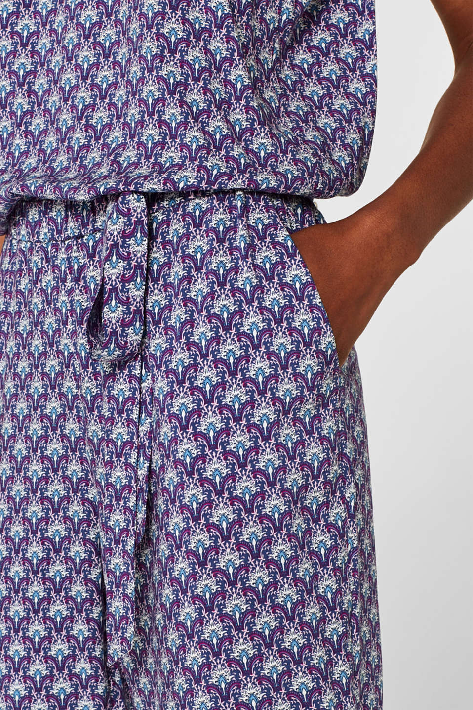 Overalls woven, NAVY, detail image number 5
