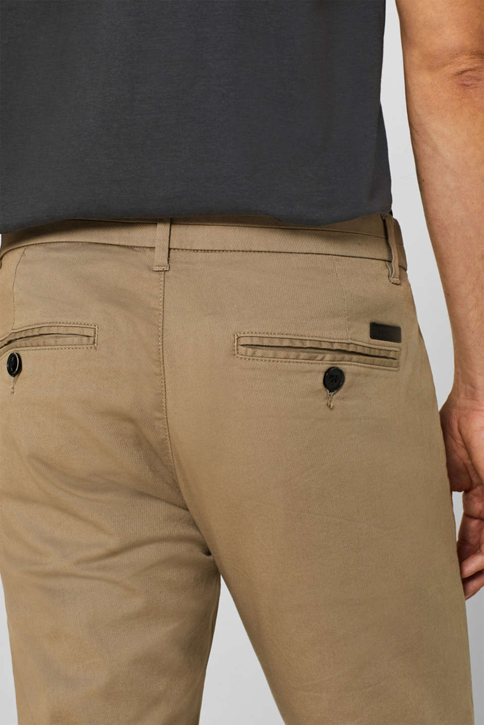 Pants woven, BEIGE, detail image number 2