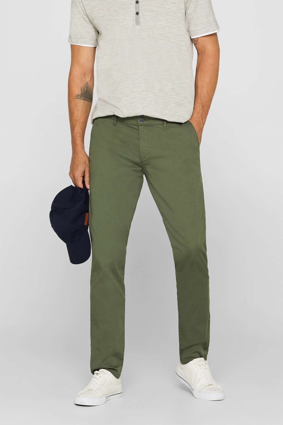 Esprit - 5-Pocket-Pants mit Stretchkomfort