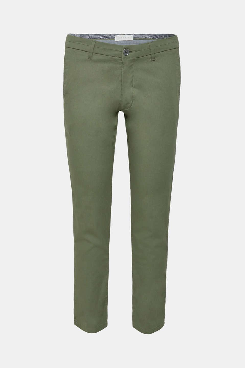 Pants woven, KHAKI GREEN, detail image number 5