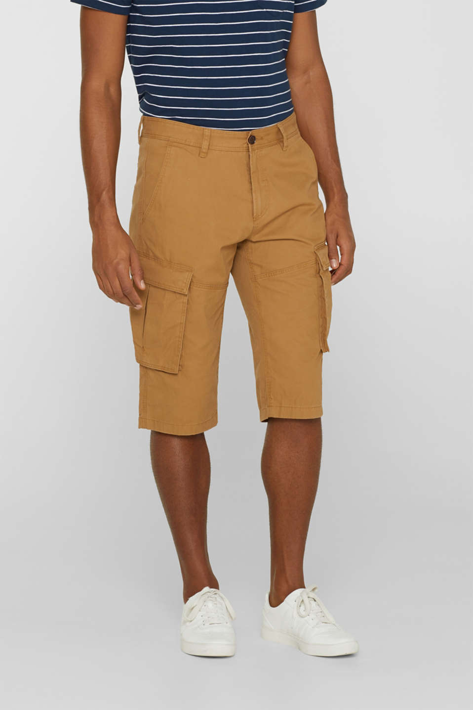 Esprit - Cargo shorts in 100% cotton