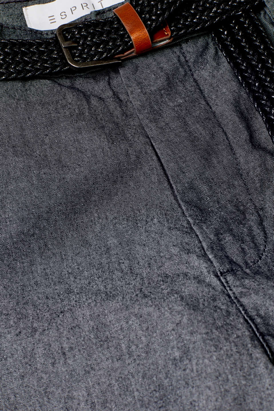 Shorts woven, ANTHRACITE, detail image number 4