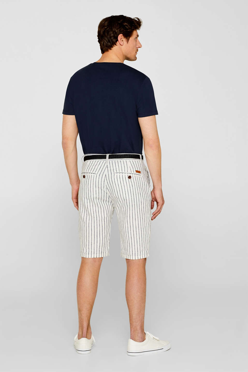 Shorts woven, OFF WHITE, detail image number 3