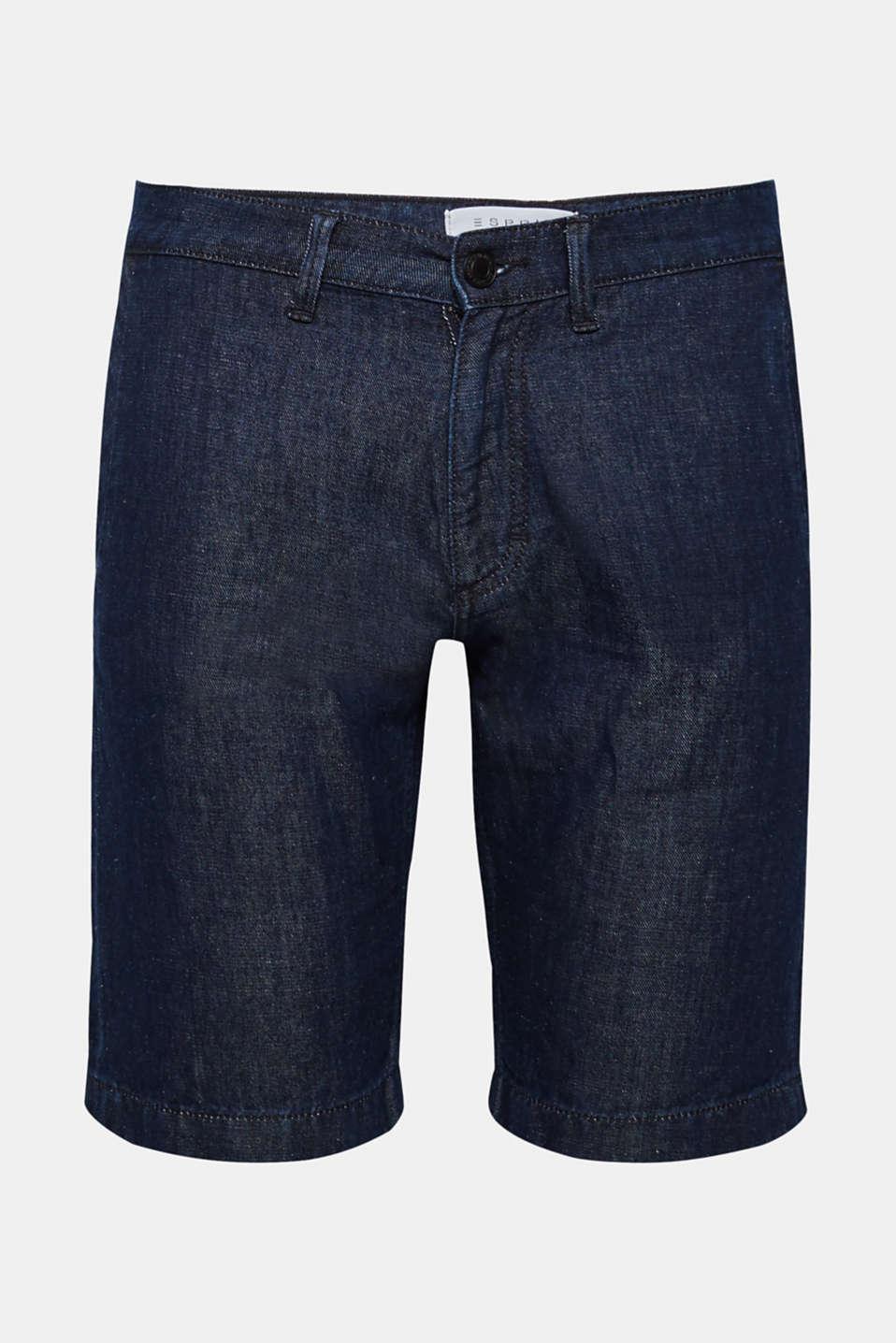 Shorts denim, BLUE MEDIUM WASH, detail image number 5