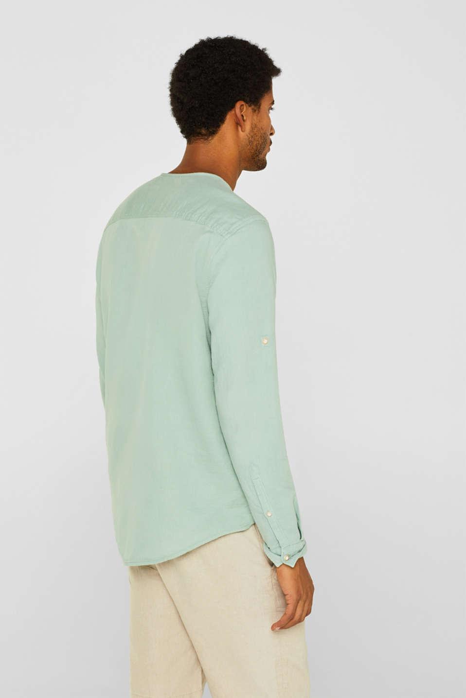 Shirts woven Regular fit, LIGHT GREEN, detail image number 3