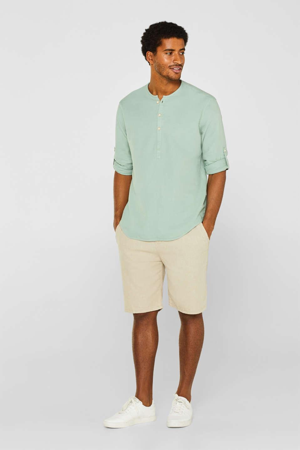 Shirts woven Regular fit, LIGHT GREEN, detail image number 1