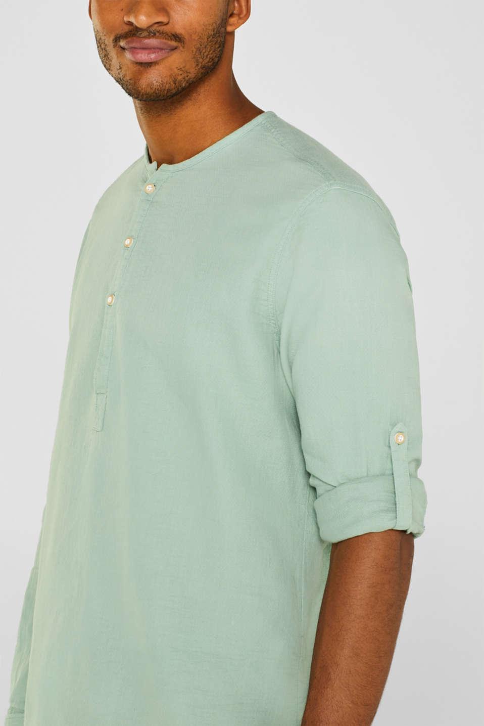 Shirts woven Regular fit, LIGHT GREEN, detail image number 2