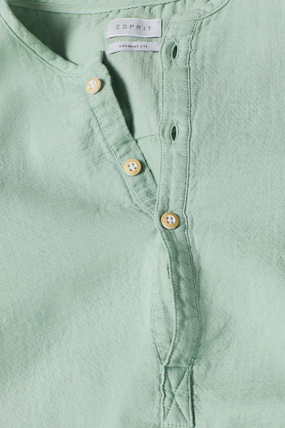 Shirts woven Regular fit, LIGHT GREEN, detail image number 4
