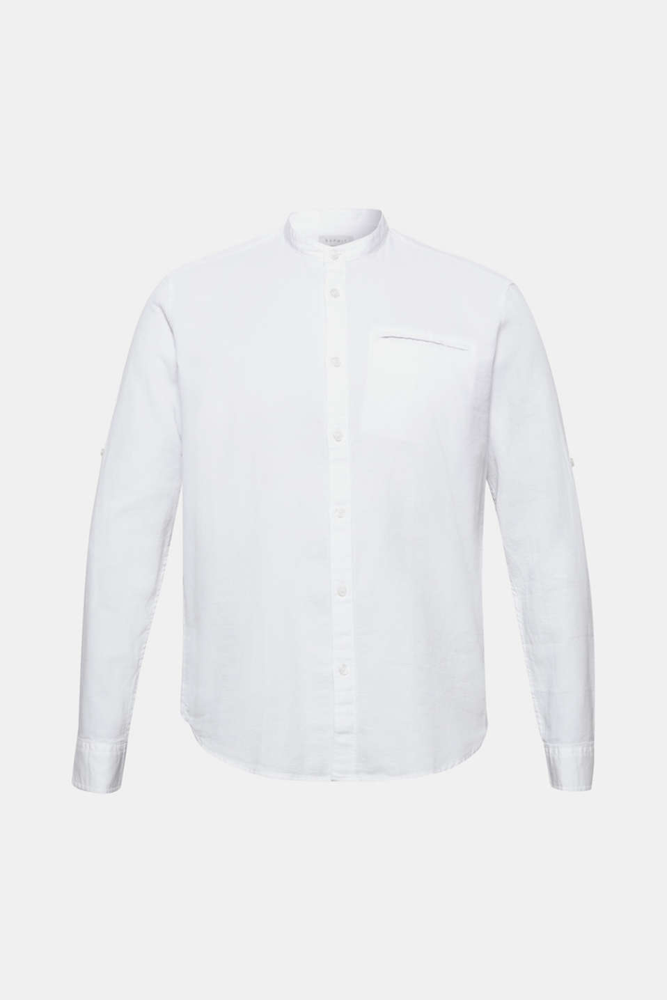 Shirts woven Regular fit, WHITE, detail image number 7