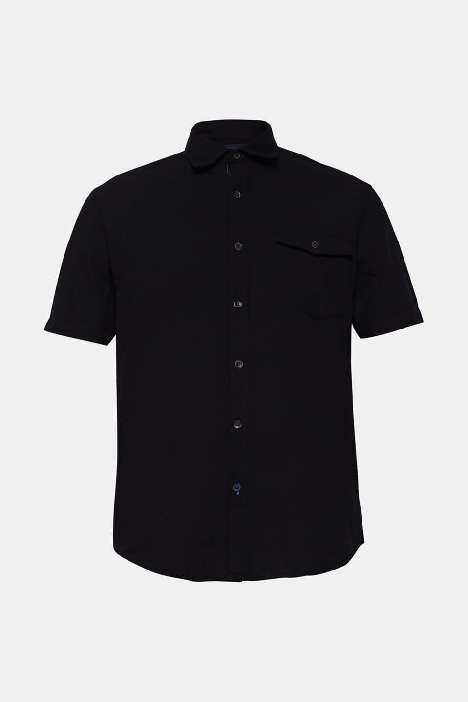 Shirts woven Regular fit, BLACK, detail image number 6