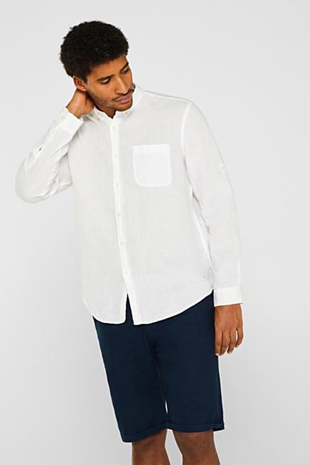 Linnen Overhemd Heren Lange Mouw.Esprit Overhemden Voor Heren Kopen In De Online Shop