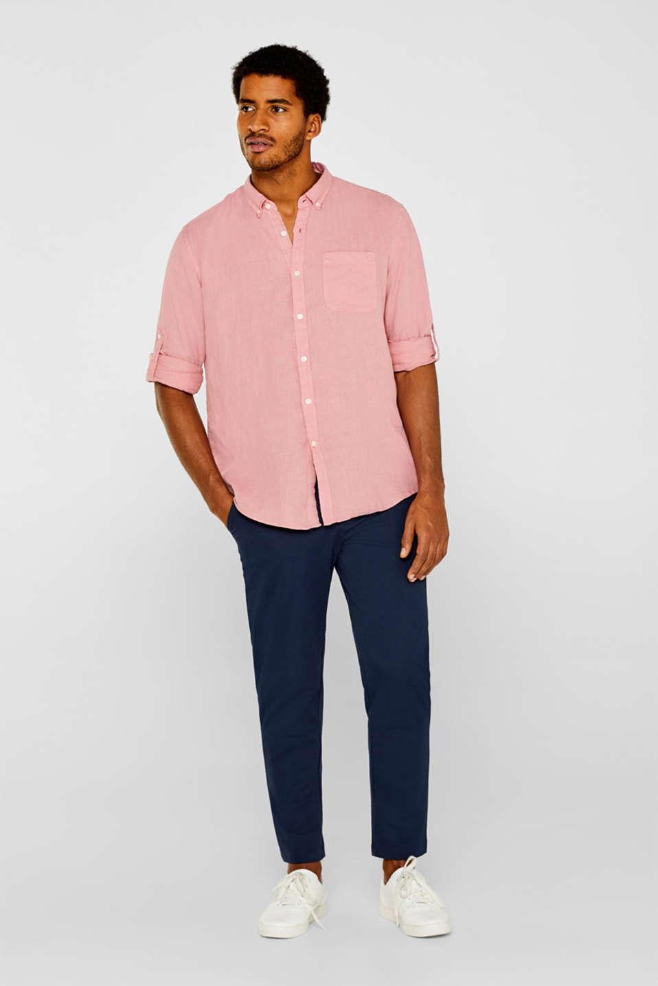 Shirts woven Regular fit, BLUSH 2, detail image number 5
