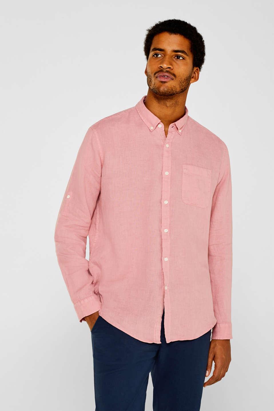 Shirts woven Regular fit, BLUSH 2, detail image number 6