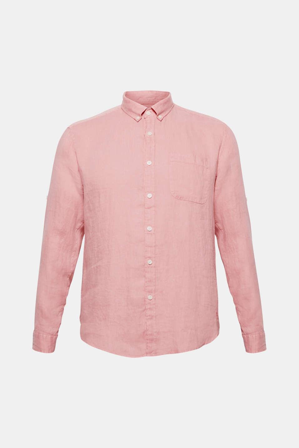 Shirts woven Regular fit, BLUSH 2, detail image number 7