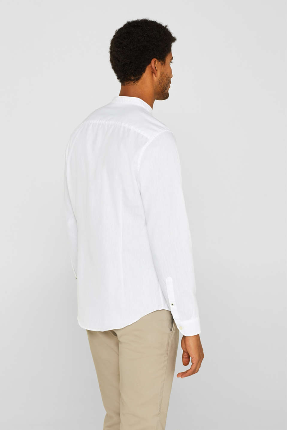 Shirts woven Slim fit, WHITE, detail image number 3