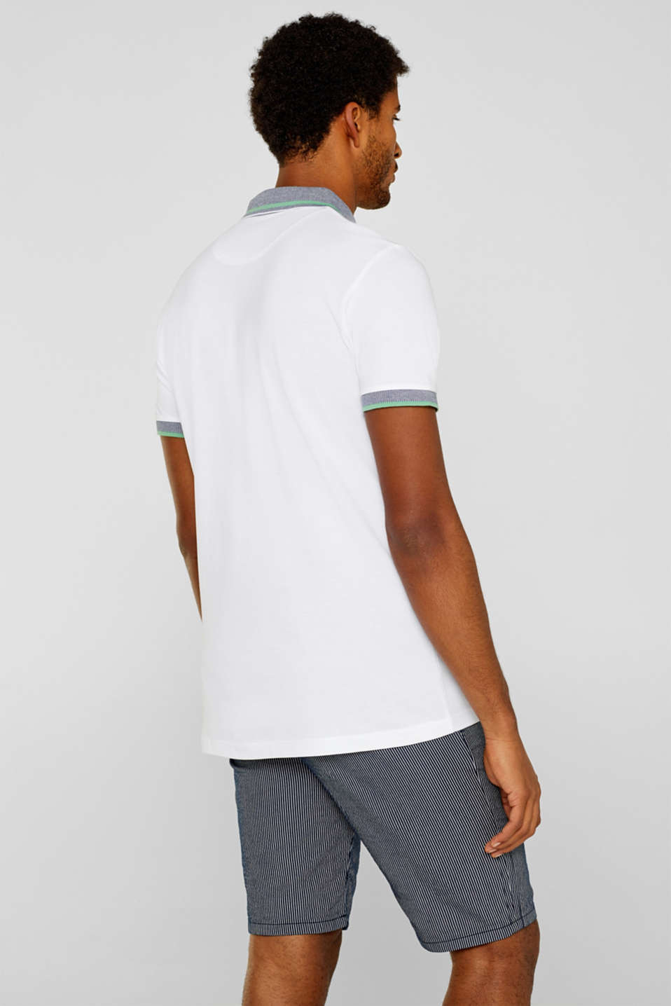 Polo shirts, WHITE, detail image number 3