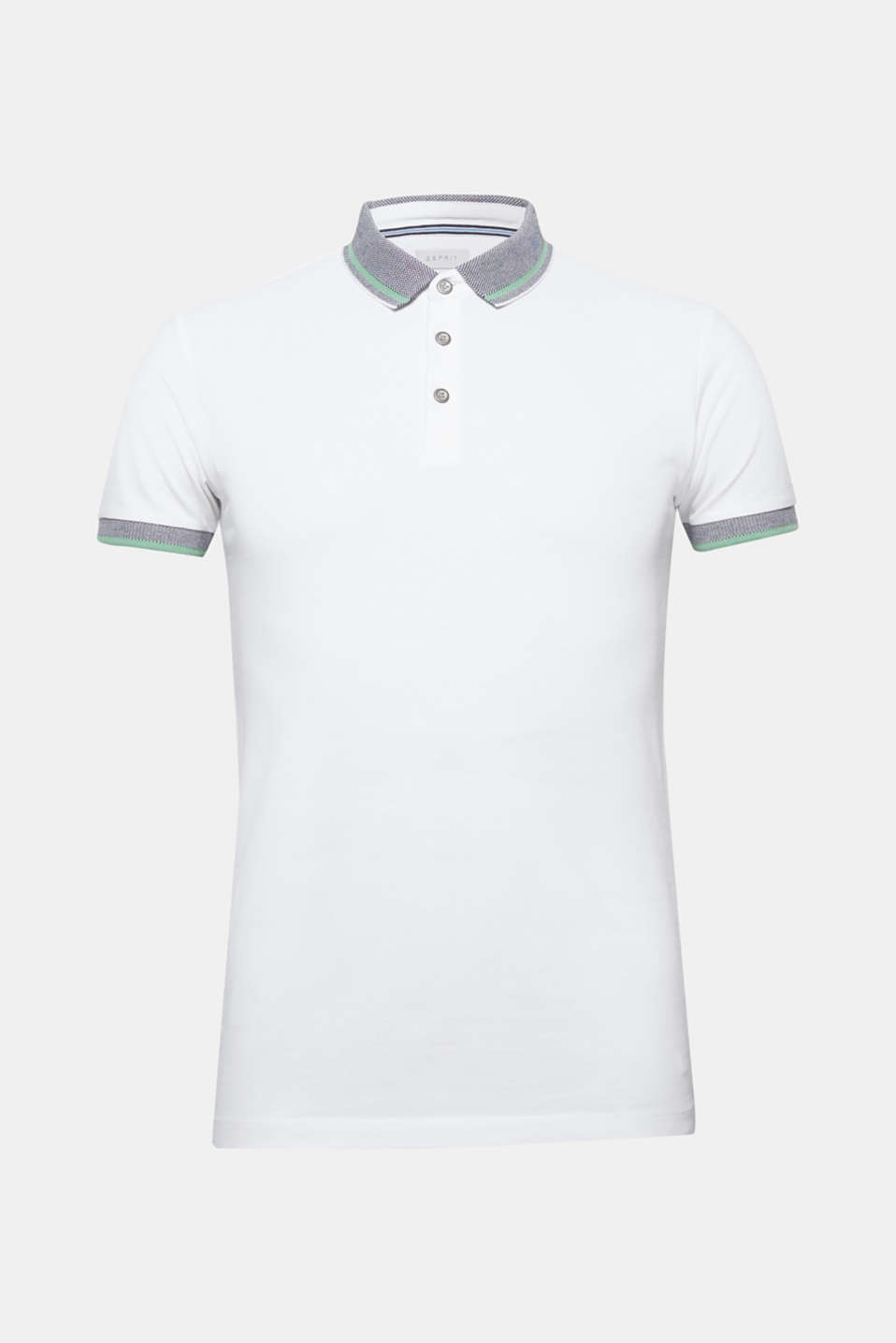 Polo shirts, WHITE, detail image number 7