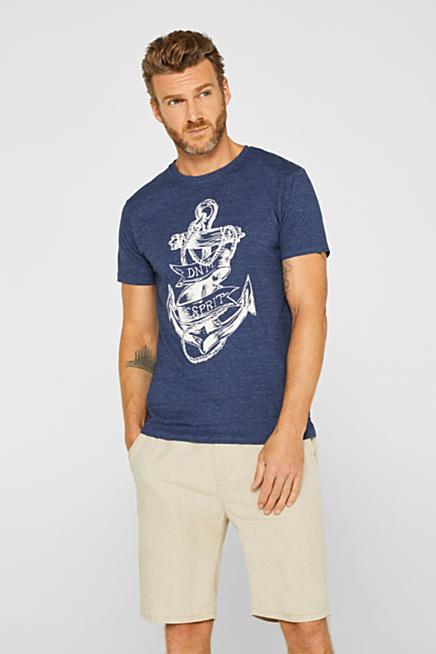 3c434af44932 Jerseyshirt med ankerprint