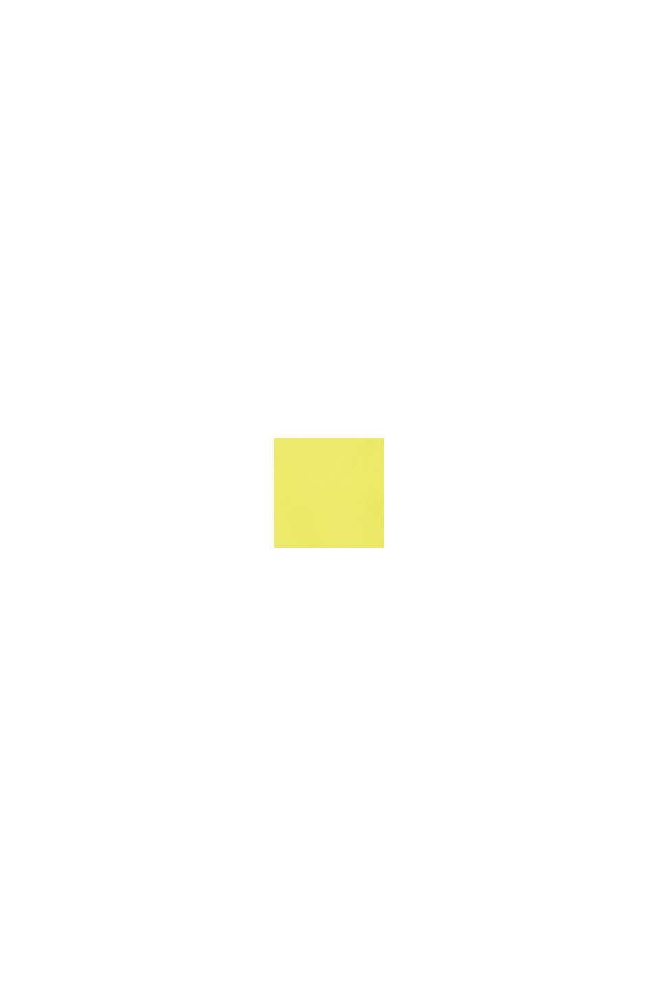 Maillot de bain au look color block, LIME YELLOW, swatch