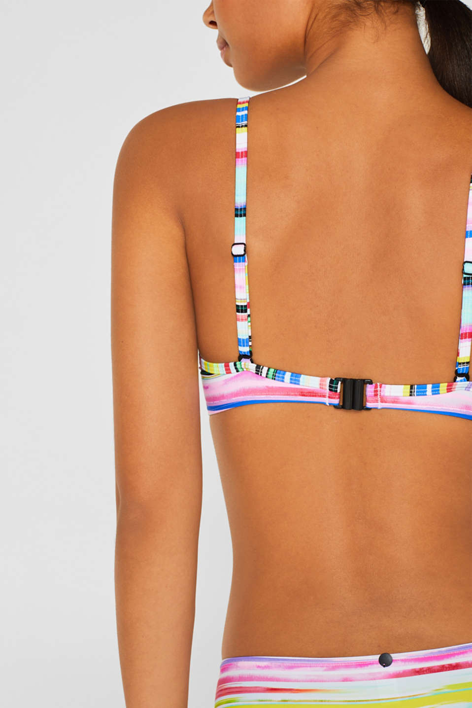 Beach Tops with wire, PINK FUCHSIA, detail image number 3