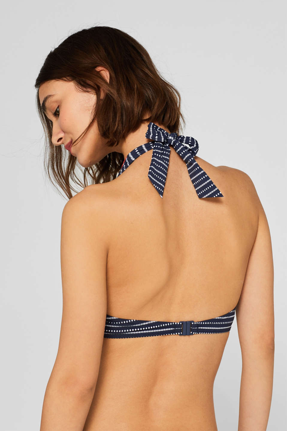 Beach Tops with wire, NAVY, detail image number 1