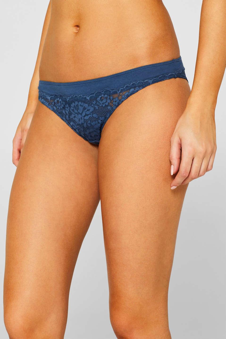 Bottoms, GREY BLUE, detail image number 1