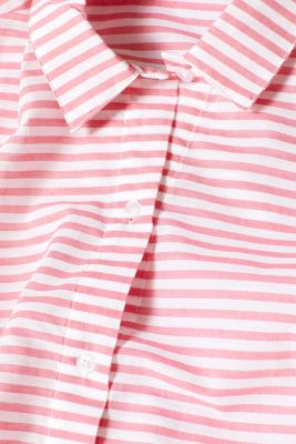 Striped woven nightshirt, 100% cotton