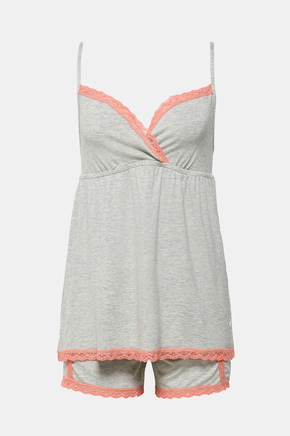 Pyjamas, LIGHT GREY, detail image number 4